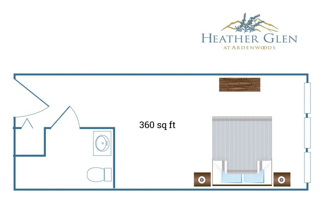 Heather Glen floor plan